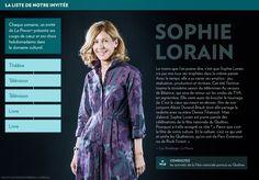 Sophie Lorain - La Presse+