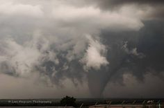 Tornado on May 27, 2015 in Canadian, TX off of US 83. We were on a hill and the view was spectacular!