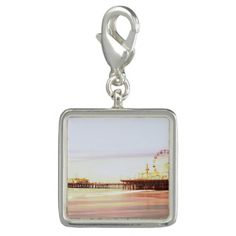 Santa Monica Pier Sunrise Bracelets #sold on #zazzle