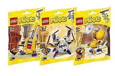 Lego Mixels Series 7 Bundle MIXIES set JAMZY (41560) TAPSY (41561) TRUMPSY (41562)...