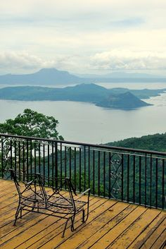 Taal Lake and Taal Volcano in Batangas, Philippines.