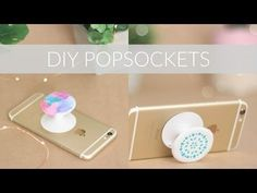 DIY POPSOCKETS FROM SCRATCH + DECORATION IDEAS || DIY Phone Accessory Collab - YouTube