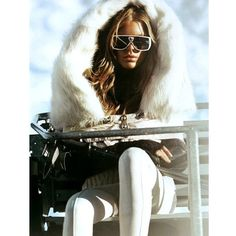 #repost #luxuryouterwear #winterwonderland french alps #whitefur