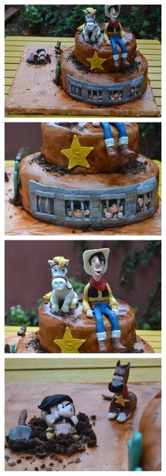 Lucky luke birthday cake