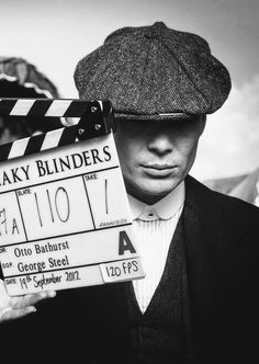 Cillian Murphy on set of Peaky Blinders Finn Cole, Joe Cole, Boardwalk Empire, Birmingham, Red Right Hand, Remedies For Tooth Ache, Cillian Murphy Peaky Blinders, Steampunk Festival, Bbc Two