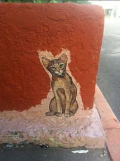 Arizona Has The Best Cat Street Art [and I see some every time I visit my family. jh]