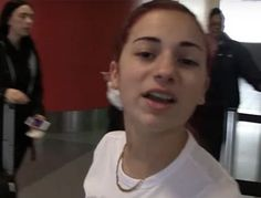 """Days after dissing Kylie Jenner on the radio, """"Cash Me Ousside"""" girl Danielle Bregoli offers some fighting words for the entire Kardashian family. TMZ cameras caught up with the 13-year-old at LAX this week and asked if she was worried about Kylie clapping back at her. """"Ain't nobody scared of her,"""" Bregoli replied. """"Bitch, I'll …"""