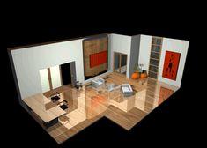 woonkamer inrichten 3d ontwerpen