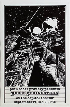 Bruce Poster September 1978