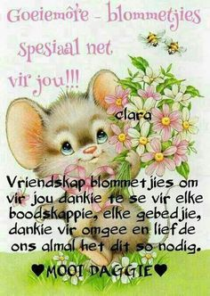 Good Night Blessings, Good Night Wishes, Good Morning Good Night, Day Wishes, Good Morning Quotes, Lekker Dag, Goeie More, Afrikaans Quotes, Morning Greeting