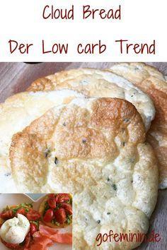 Cloud Bread - Brot ohne Kohlenhydrate: DER geniale Trend für alle Low-Carb-Fans