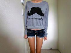 Le Moustache. Jumper.