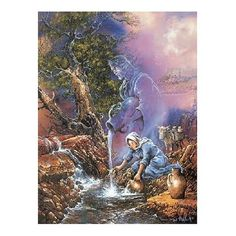 Master Pieces I am the Living Water 550 Piece Jigsaw Puzzle by Master Pieces, http://www.amazon.com/dp/B0006H1C1I/ref=cm_sw_r_pi_dp_uxy2rb1JD72EF