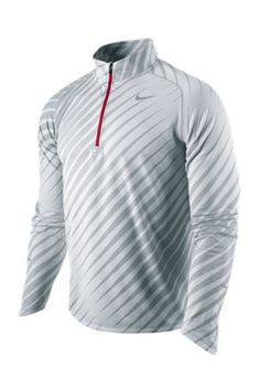 Nike UK Men's Nike Element Jacquard Long Sleeved 1/2 Zip