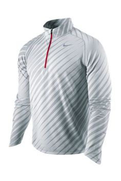 Nike UK Men's Nike Element Jacquard Long Sleeved 1/2 Zip
