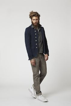 Lookbook Spring Summer Collection 2014 Coben Shirt, Chestnut T-Shirt and George Pant