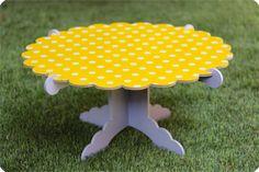 Azucarillos de Colores: Un cakestand reversible