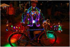 The mission of the Key West Bicycle Association is to promote safe bicycling...love this guy!