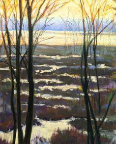 """Marsh Tangle"" 8x10"" pastel http://takeyceart.com/blog"