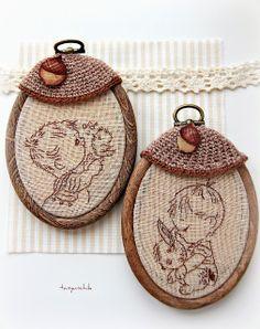 Желудёвые медальоны