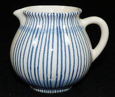 HEDWIG BOLLHAGEN HB - Sahnekännchen MILCHKÄNNCHEN Kanne - Keramik - Blau Weiss