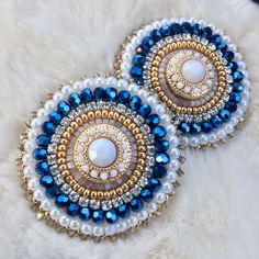 free seed bead patterns and instructions Beaded Earrings Native, Beaded Necklace Patterns, Seed Bead Earrings, Seed Beads, Bead Embroidery Patterns, Bead Embroidery Jewelry, Beaded Jewelry, Bead Patterns, Weaving Patterns