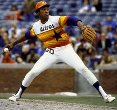 J.R.Richards. Flame thrower in one of my favorite uni's ever.