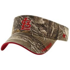 St. Louis Cardinals '47 Brand Ice Adjustable Visor – Realtree Camo