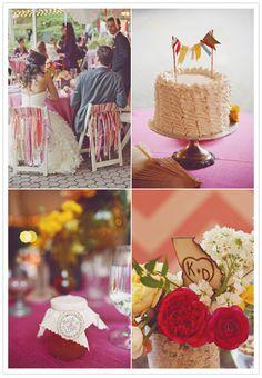 Indie garden theme wedding: Kelly + Drew