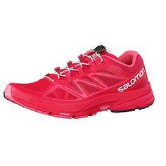 Salomon Sonic Pro Women's Running Shoes - SS16 - 9.5 - Pink - http://shopping-craze.com/2016/05/14/salomon-sonic-pro-womens-running-shoes-ss16-9-5-pink/