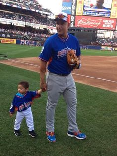 Miggy & his son during the 2013 Home Run Derby (7/15/13)