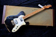Dax&Co.Partscaster Thinline HEAVY Relic! Fender