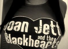 JOAN JETT AND THE Black<3'S SHIRT.  Own it got it at the show ;)