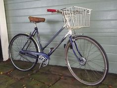 Ladies Vintage Triumph Palm Beach Touring Bicycle with basket on eBay