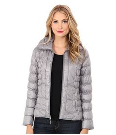 Kenneth Cole New York Packable Down Jacket Nickel - 6pm.com
