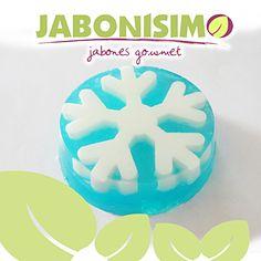 Copo de nieve imperial de jabón gourmet By Jabonísimo.
