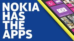 """The Applications Latest Ad   Nokia Canada posted this lovely ad in the myths and the """"application gap"""" in the Windows Phone platform."""