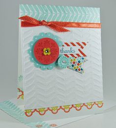 Lauras Works of Heart: MADISON AVENUE CARD: