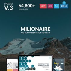 LOOK – Creative Theme Main Features :  80+ Multipurpose Slides 156 Themes color, (Dark & Light) Clean & Creative Style 16:9 Aspect ratio Based on Master Slides Just One Click to change the colors P...