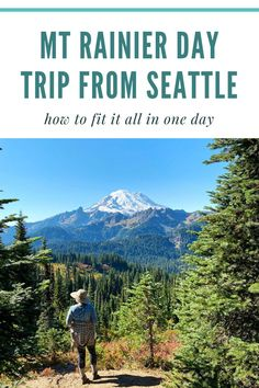 Planning your hiking trip to Mt Rainier? Here are the things you need to know, what to bring, and some tips along the way! #hiking #washington #travel Day Trips From Seattle, Seattle Travel, Mt Rainier National Park, Snow Lake, Best Hikes, Sunset Photos, Weekend Getaways, Pacific Northwest, Mount Rainier