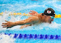 藤井の力泳 :フォトニュース - リオ五輪・パラリンピック 2016:時事ドットコム