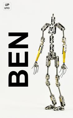 UPuno - Ben - Stop motion armature kit