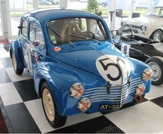 1952 Renault 4CV Racer