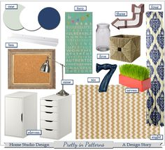 Home Office Design Plan- A Design Story