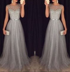 A-Line New Arrival Long Beading Real Made Christmas Dresses,Long Party Dresses,Prom Dresses On Sale, D88