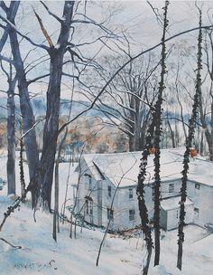 Winter Watercolors: Embrace the BURRR!