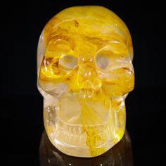 #Exhaulted #Energy #GoldenHealer #Quartz #CrystalSkull