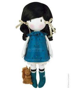 Gorjuss Cloth Doll - You Brought Me Love