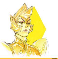 MarcelPerez,SU art,Steven universe,фэндомы,Blue Diamond,SU Персонажи,Yellow Diamond