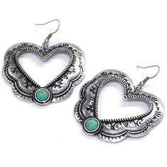 Southwest Heart Earrings